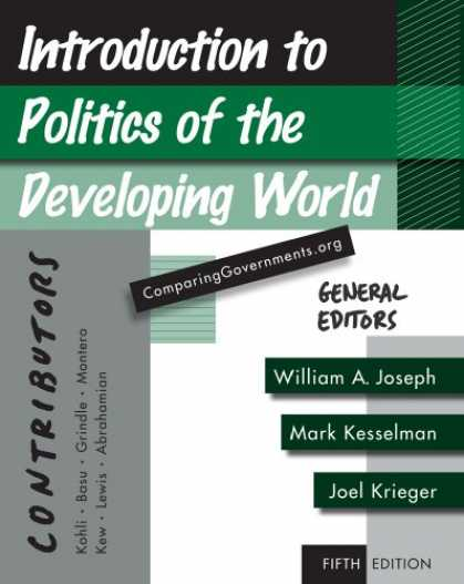 Books on Politics - Introduction to Politics of the Developing World: Political Challenges and Chang