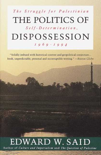 Books on Politics - The Politics of Dispossession: The Struggle for Palestinian Self-Determination,