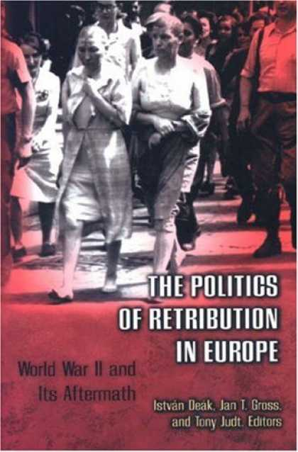 Books on Politics - The Politics of Retribution in Europe