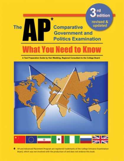 Books on Politics - The AP Comparative Government and Politics Examination: What You Need to Know, T