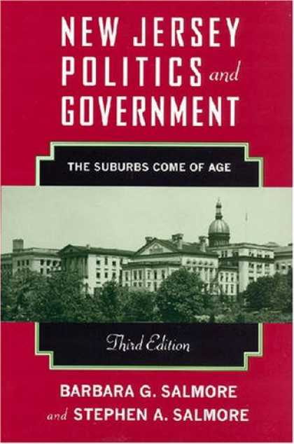 Books on Politics - New Jersey Politics and Government: The Suburban Politics Comes of Age