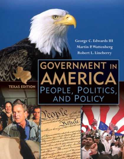 Books on Politics - Government in America: People, Politics, and Policy, Texas Edition