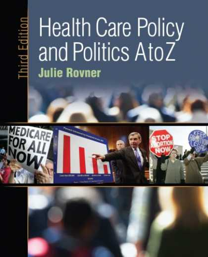 Books on Politics - Health Care Policy and Politics A-Z, 3rd Edition (Health Care Policy & Politics