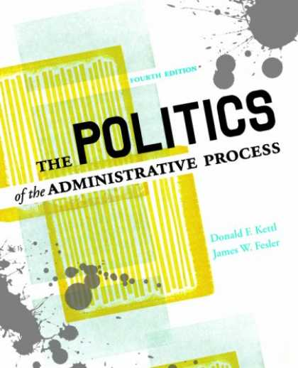 Books on Politics - The Politics of the Administrative Process