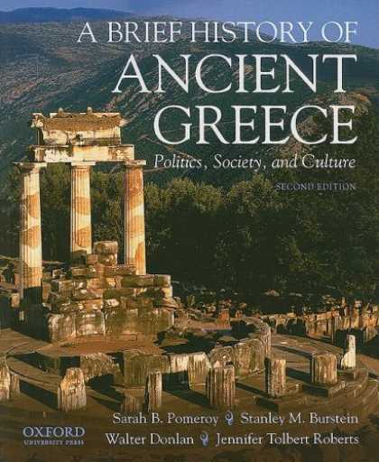 Books on Politics - A Brief History of Ancient Greece: Politics, Society and Culture