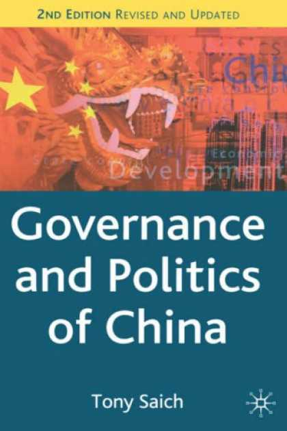 Books on Politics - Governance and Politics of China, Second Edition (Comparative Government and Pol
