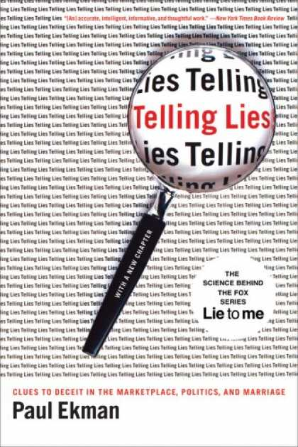 Books on Politics - Telling Lies: Clues to Deceit in the Marketplace, Politics, and Marriage, Third