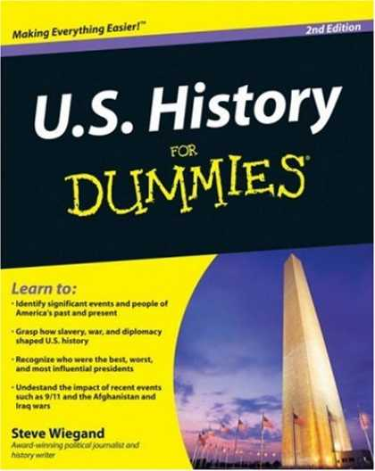 Books on Politics - U.S. History For Dummies (For Dummies (History, Biography & Politics))