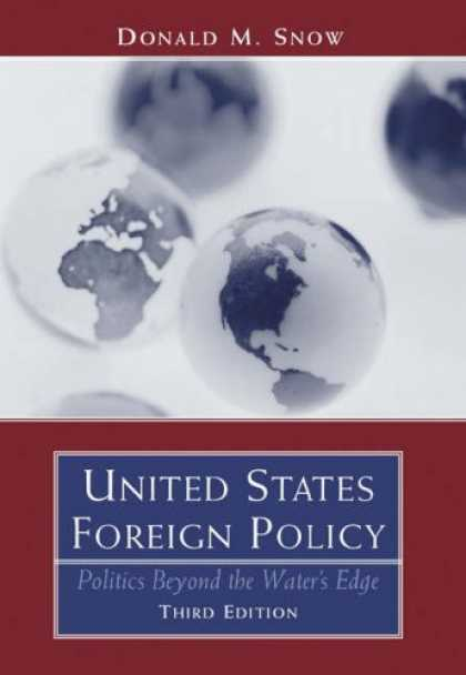 Books on Politics - United States Foreign Policy: Politics Beyond the Water's Edge
