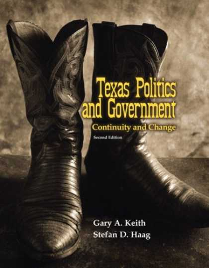 Books on Politics - Texas Politics and Government: Continuity and Change (2nd Edition)