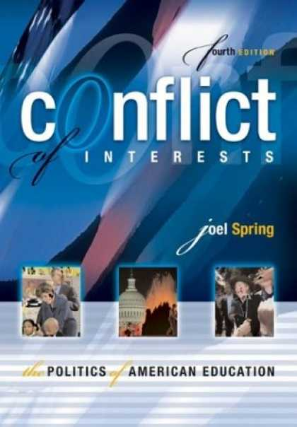 Books on Politics - Conflict of Interests: The Politics of American Education, Fourth Edition