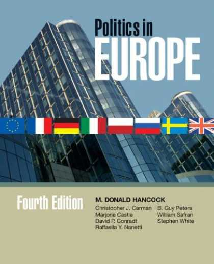 Books on Politics - Politics In Europe: An Introduction To the Politics Of the United Kingdom, Franc