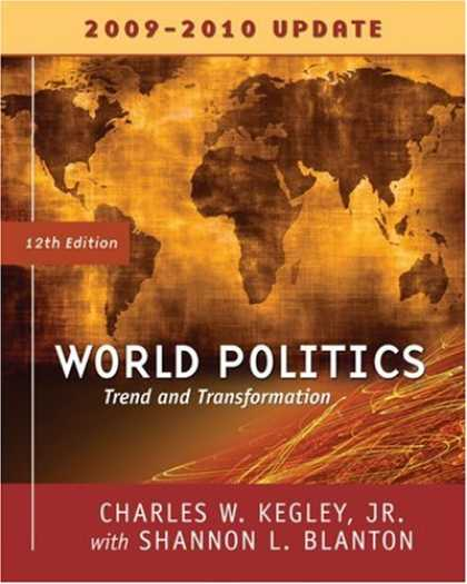 Books on Politics - World Politics: Trends and Transformations, 2009-2010 Update Edition