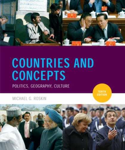 Books on Politics - Countries and Concepts: Politics, Geography, Culture (10th Edition) (MyPoliSciKi