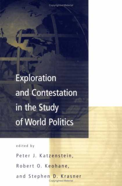 Books on Politics - Exploration and Contestation in the Study of World Politics: A Special Issue of