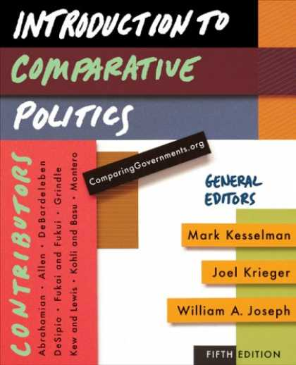 Books on Politics - Introduction to Comparative Politics