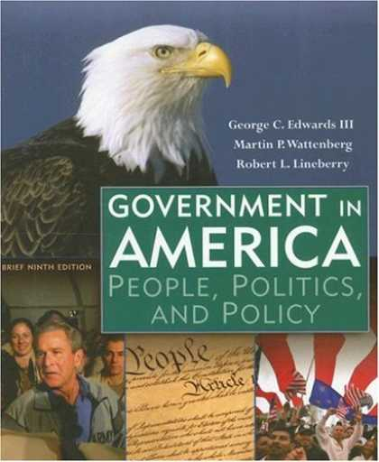 Books on Politics - Government in America: People, Politics, and Policy, Brief Edition (9th Edition)