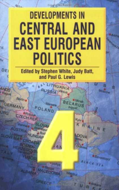 Books on Politics - Developments in Central and East European Politics