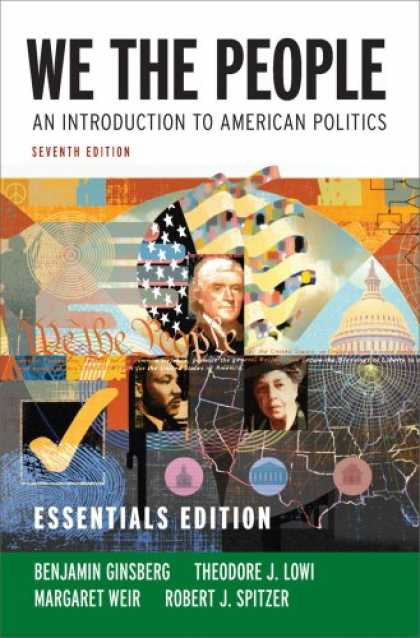 Books on Politics - We the People: An Introduction to American Politics (Seventh Essentials Edition)