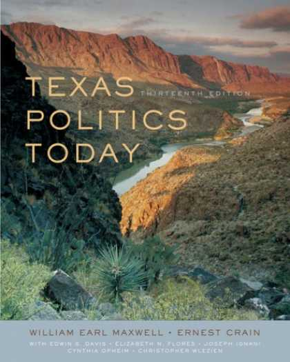Books on Politics - Texas Politics Today