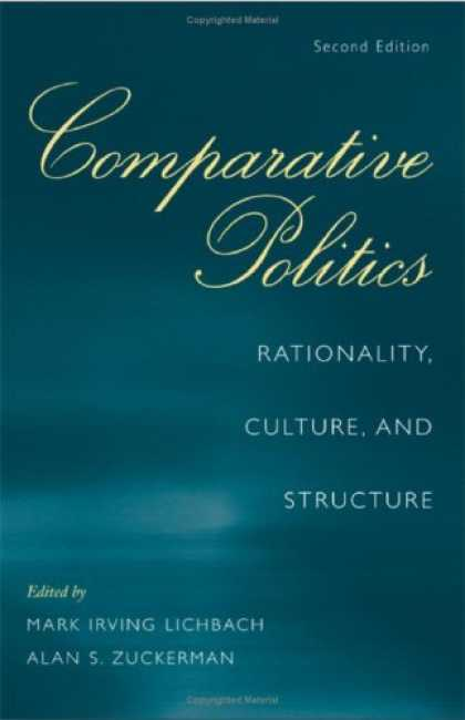 Books on Politics - Comparative Politics: Rationality, Culture, and Structure (Cambridge Studies in