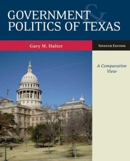Books on Politics - Government and Politics of Texas