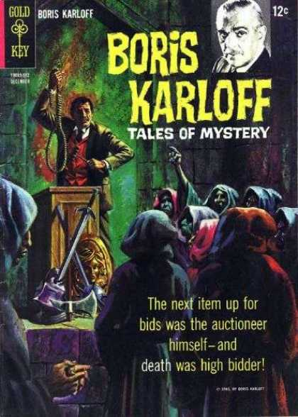 Boris Karloff Tales of Mystery 12 - Death Always Wins - The Noose Is Loose - Swords And Fury - Darkness Overcomes Light - Robes Of Darkness