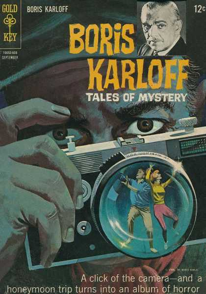 Boris Karloff Tales of Mystery 15 - Camera - Gold Key - 12 Cents - Eyes - Photographer