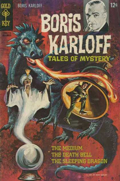 Boris Karloff Tales of Mystery 20 - Genie - Dragon - Fire - Bell - Scared Man