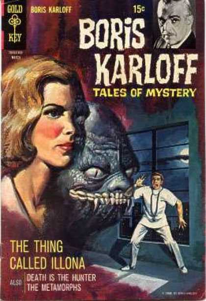 Boris Karloff Tales of Mystery 25 - Mystery - Illona Monster - Thriller - Metamorphs - Woman