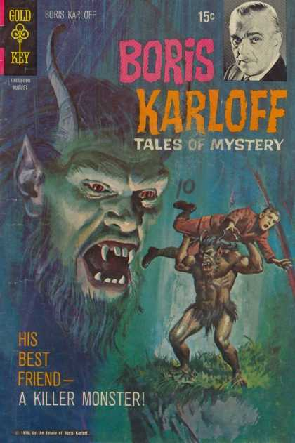 Boris Karloff Tales of Mystery 31 - Boris Karloff - Gold Key - 1976 - Tales Of Mystery - August
