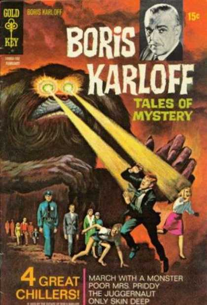 Boris Karloff Tales of Mystery 33 - March With A Monster - Poor Mrs Priddy - The Juggernaut - Only Skin Deep - 4 Great Chillers