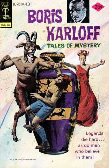 Boris Karloff Tales of Mystery 59 - Adventure Of Hercules - Legendary Story - Strength Of Hercules - Son Of Hera - Mistery Island