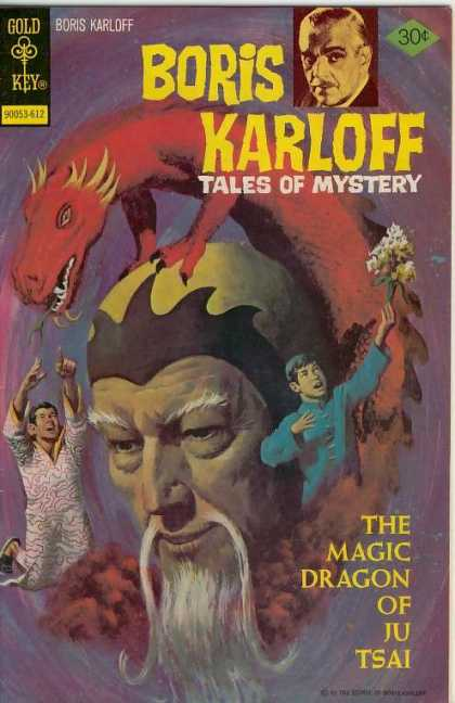 Boris Karloff Tales of Mystery 72 - The Magic Dragon Of Ju Tsai - Asian - Fu Manchu - Flowers - Child