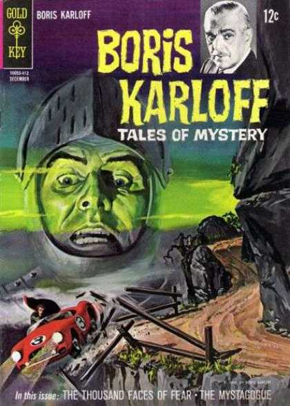 Boris Karloff Tales of Mystery 8 - The Thousand Faces Of Fear - The Mystagogue - Car Accident - Road - Green Face