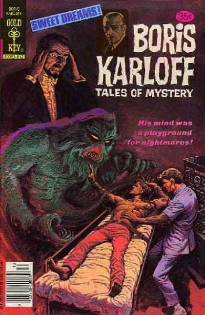 Boris Karloff Tales of Mystery 87 - Mystery - Doctor - Experiment - Surgery Table - Monster