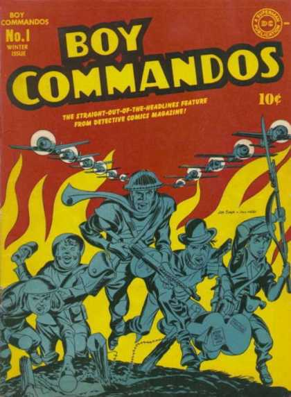 Boy Commandos 1 - Jack Kirby, Joe Simon