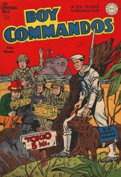 Boy Commandos 12 - Jack Kirby, Joe Simon