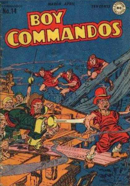 Boy Commandos 14 - Jack Kirby, Joe Simon