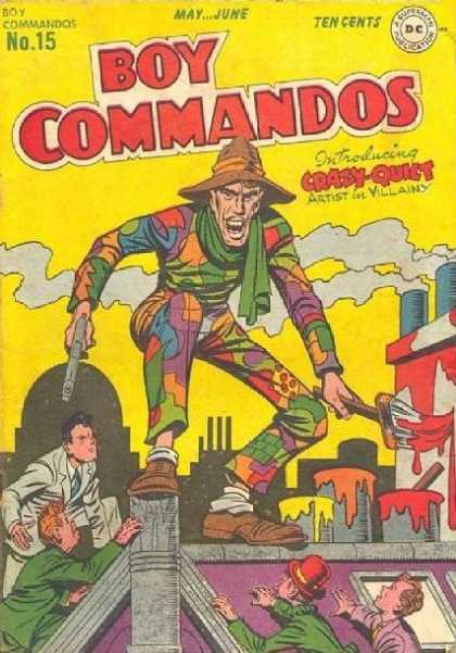 Boy Commandos 15 - Jack Kirby