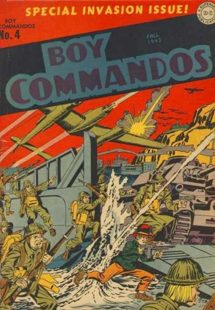 Boy Commandos 4 - Jack Kirby, Joe Simon