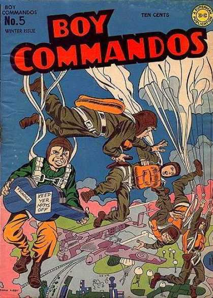 Boy Commandos 5 - Jack Kirby, Joe Simon