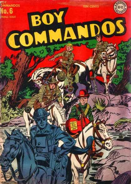 Boy Commandos 6 - Jack Kirby, Joe Simon