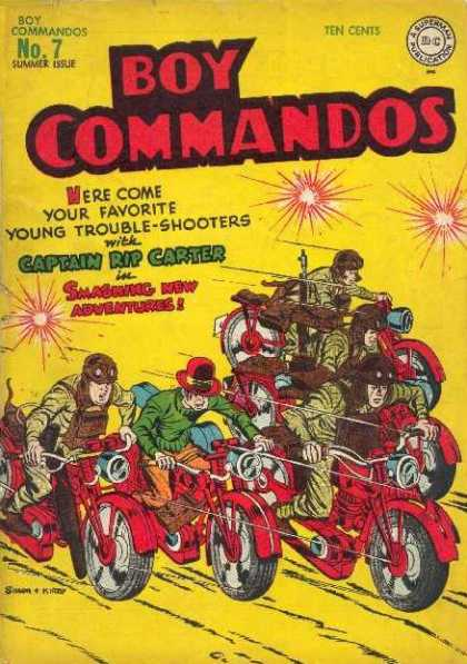 Boy Commandos 7 - Jack Kirby, Joe Simon