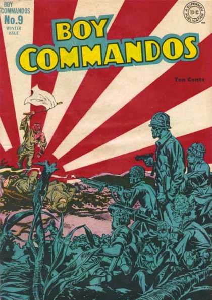 Boy Commandos 9 - Flag - Soldiers - Jack Kirby, Joe Simon