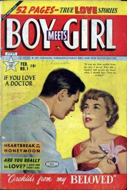 Boy Meets Girl 1 - 52 Pages - True Love Stories - Heartbreak - Homeymoon - Are You Really In Love