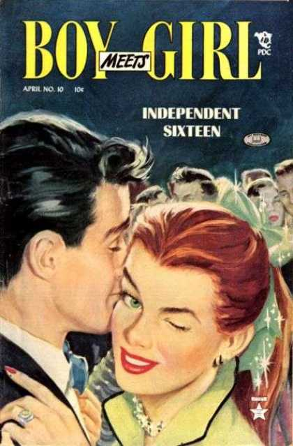 Boy Meets Girl 10 - Independent Sixteen - April No 10 - Pdc - Romance - Love Comics