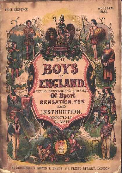 Boys of England - 10/1882