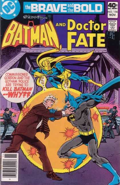 Brave and the Bold 156 - Commissioner Gordon - Gotham - Police - Kill - Attacking - Jim Aparo