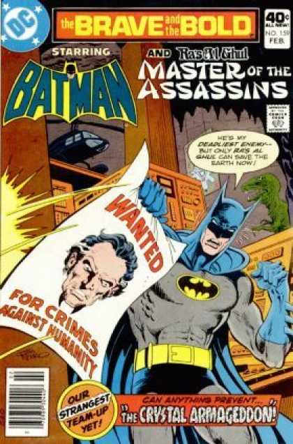 Brave and the Bold 159 - Jim Aparo